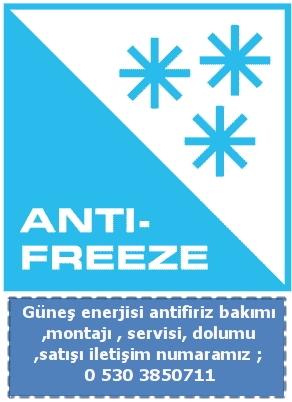 Güneş Enerjisi Kışlık Bakım Antifriz