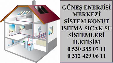 Ankara Güneş Enerjisi İle Su Isıtma Sistemleri