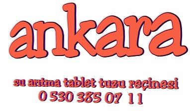 su-yumusatma-tableti-tuzu-recinesi-arıtma-ankara
