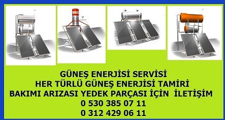 Güneş Enerjisi Tamiri Ankara
